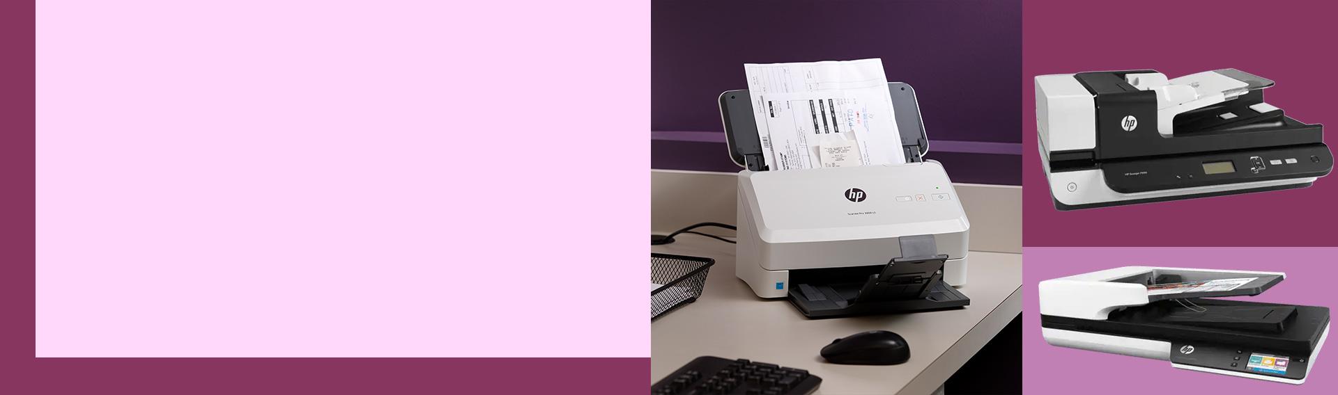 Escáners para el trabajo en la oficina