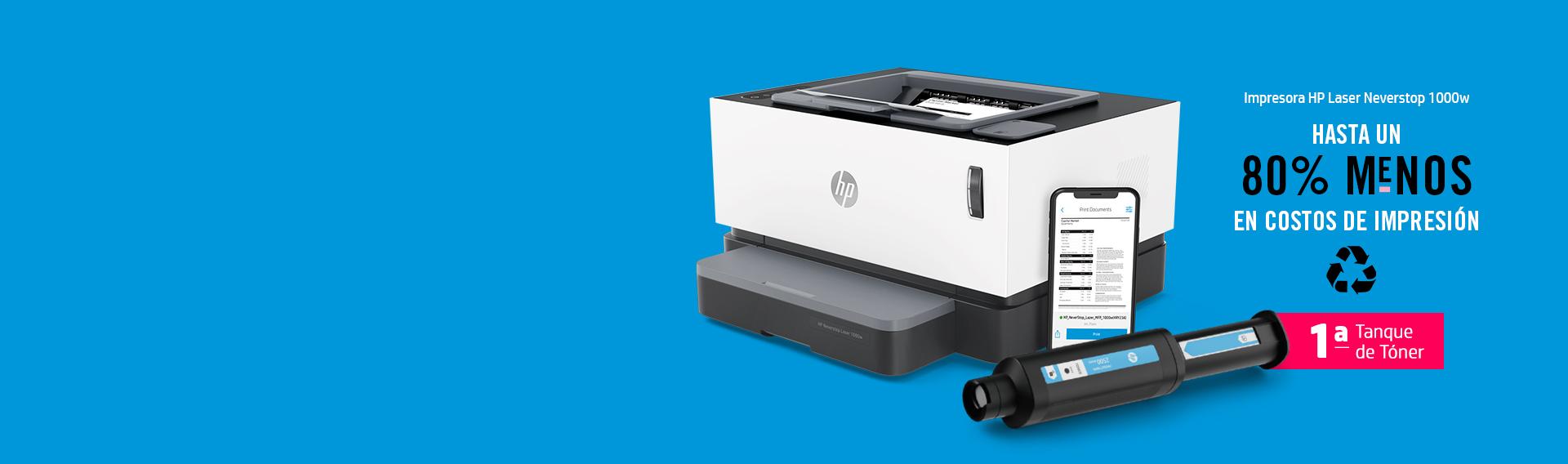 Hasta 80% menos en costos de impresión