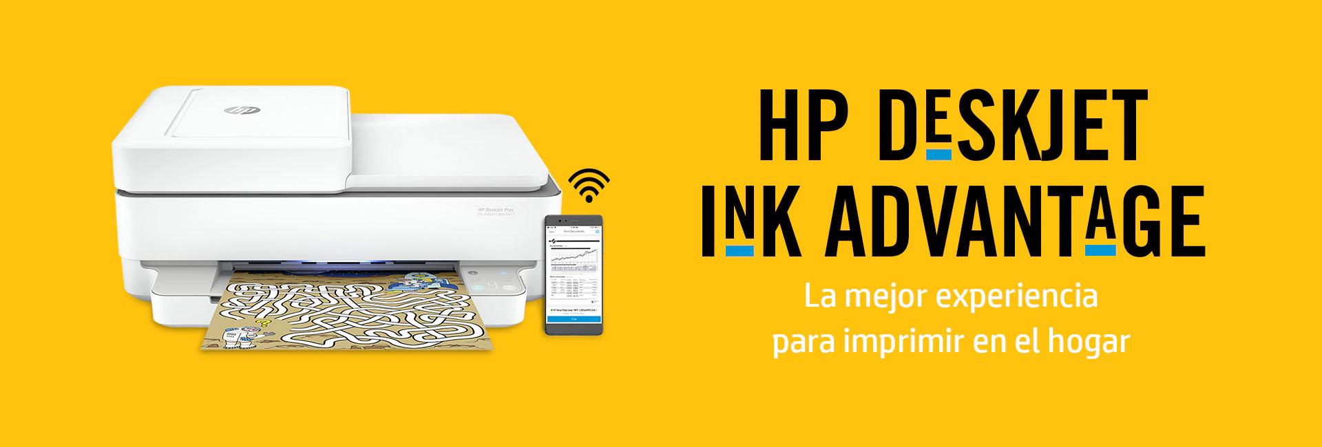 HP Deskjet Ink Advantage. La mejor experiencia para imprimir en el hogar