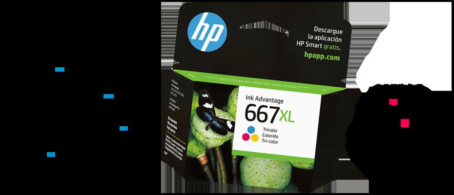 Cartuchos de Tinta HP 667
