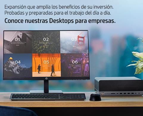 Desktops empresariales HP