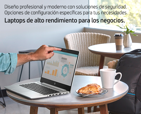 Laptops empresariales HP